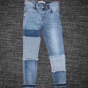Levi's 710 Patchwork Girls Jeans